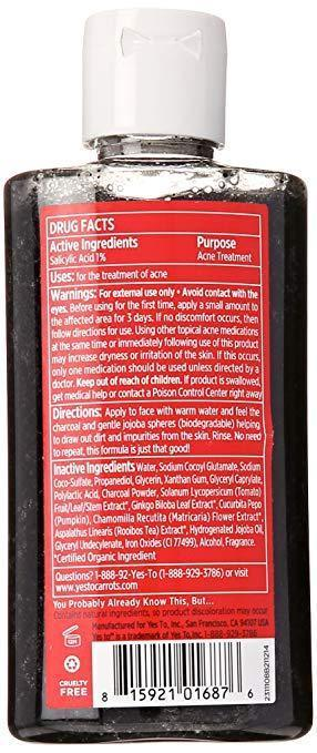 Yes to Tomatoes Detoxifying Charcoal Cleanser image 2