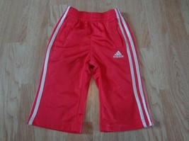 Infant/Baby Toddler Boys Adidas Sz 12 Mo. Pink & White Pants - $7.69