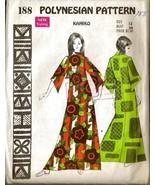 Vintage 1960's Polynesian Pattern #188 - HAWAII... - $18.00