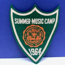 Summer Music camp patch 1964 Boy Girl Cub Scouts Miami Florida badge emb... - $23.71