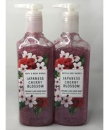 2x BATH & BODY WORKS JAPANESE CHERRY BLOSSOM CREAMY LUXE HAND SOAP WASH ... - $21.50