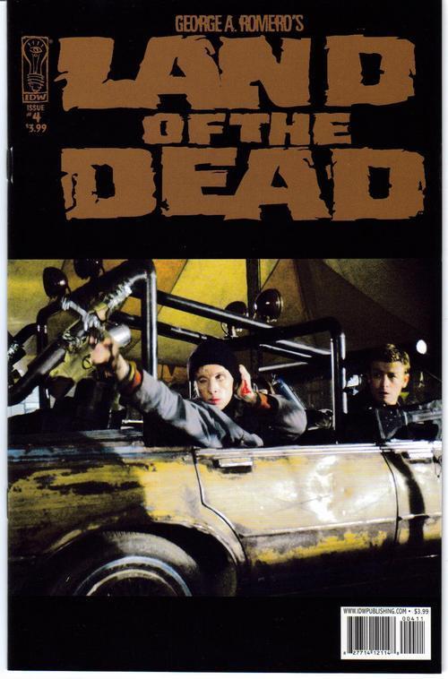 IDW Land Of The Dead Lot #4 Reg plus Variant Edition G Romero