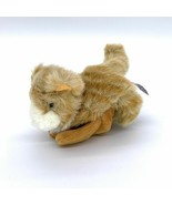 "Mary Meyer Orange & White Tabby Cat 6"" Plush Finger Puppet - $11.53"