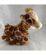 Baby Giraffe Plush 1997 vintage Mint with tag 11 inches soft cuddle Kiky... - $14.84