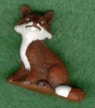 Ceramic Fox Bead - $5.00
