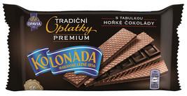 CZECH Opavia Tradicni Oplatky DARK chocolate wafers 92g- FREE SHIPPING - $7.77