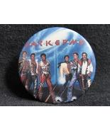 Jackson Five Victory Tour Pinback Button Vintage 1984 - $28.99