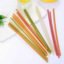 Rice straws planet-friendly, ocean-safe, guilt-free drinking - 100 straws  image 9