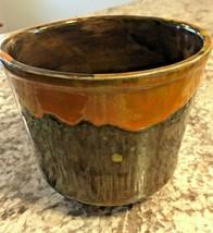 Mid Century CAL ORIG #470 USA Planter -  Drip Glaze - California Pottery - $16.70