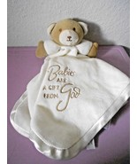 Family Christian Stores Security Blanket Lovey Babies Gift From God Ivor... - $14.83