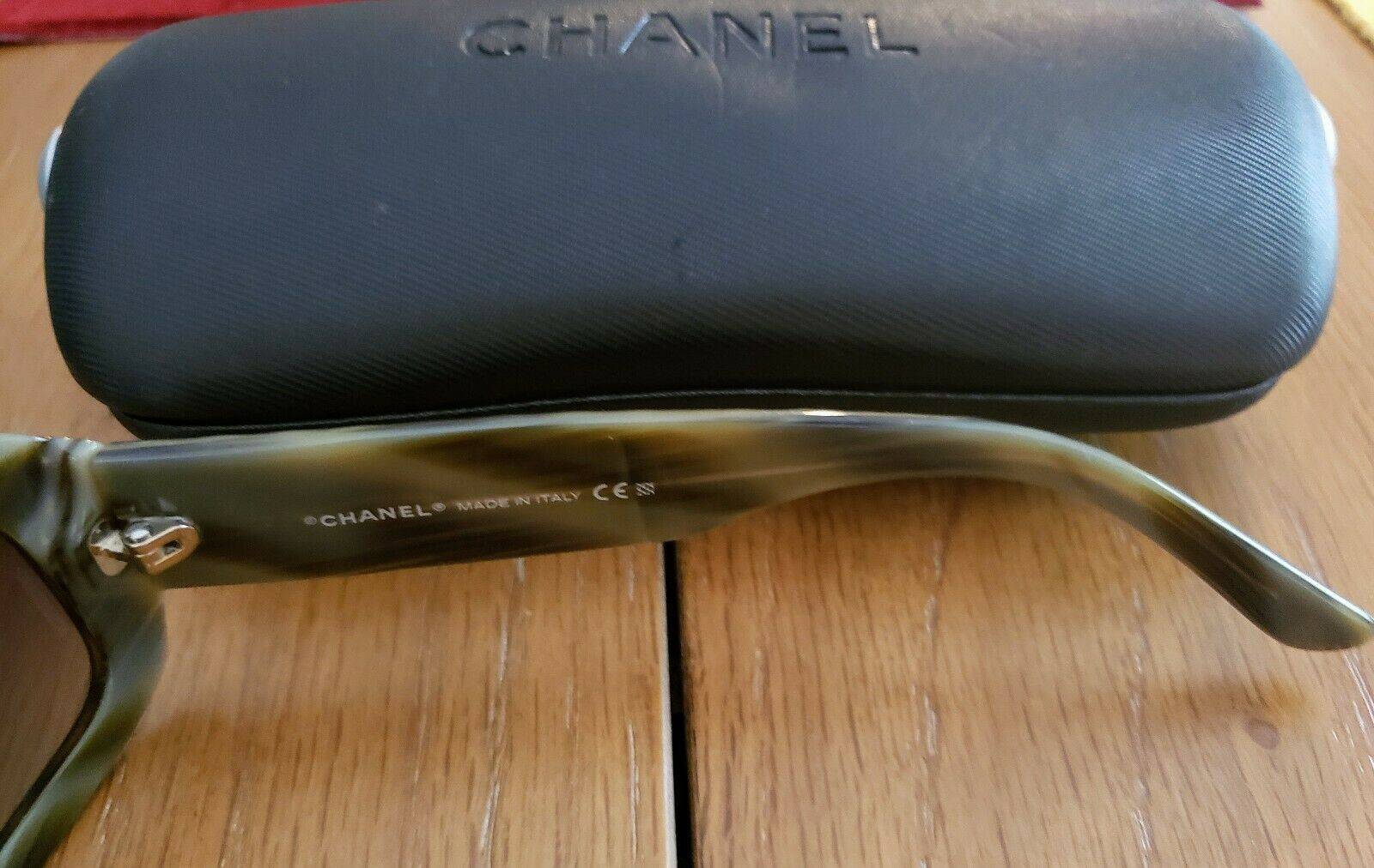 CHANEL Sunglasses 5099 653/11 Authentic 56-15-135 with Hard Case image 5