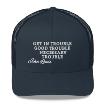 Good Trouble John Lewis Hat / Good Trouble Hat / John Lewis Trucker Cap image 6