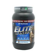 Elite Casein, Chocolate 2 lbs by Dymatize - $35.23