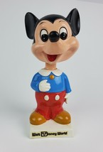 Vintage 1970's Mickey Mouse Walt Disney World Bobble-Head display Toy - $36.45