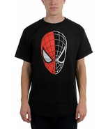 Spiderman Marvel Half Gone Black T-Shirt sz Men's XL - $8.68