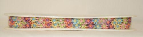 Simplicity 176055021002 Mini Rainbow Daisy Venice Lace Trim 10 Yards Long