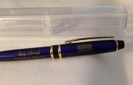 GOP TRUMP WHITE HOUSE PEN DONALD GOLD SIGNATURE BLUE BALLPOINT MAGA COLL... - $11.13