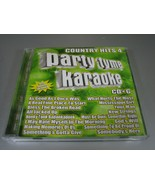 Party Tyme Karaoke: Country Hits, Vol. 4 by Sybersound (CD, Sep-2006) - $9.89