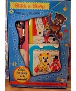 HASBRO Stitch-A-Story Set of 2 Circus Scenes Embroidered Pictures 1591 V... - $24.75