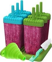 Popsicle Molds, Ozera Set of 6 Ice Pop Molds Maker, Popsicle Trays - Wit... - $10.65 CAD