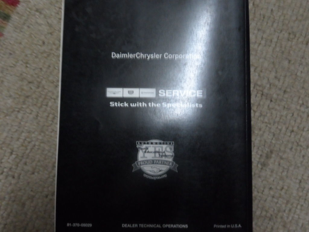 2005 Jeep Liberty POWERTRAIN Diagnostic Manual FACTORY OEM BOOK 05