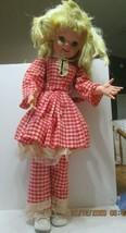 "1960 Uneeda Walt Disney Props Pollyanna Girl Doll 31""tall. - $33.66"