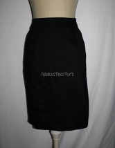 NWOT SIMPLY BY CHLOE DAO Cotton Spandex Pleated SKIRT 6 Welt Pockets Lin... - $10.00