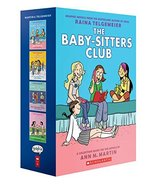 The Baby-Sitters Club Graphix #1-4 Box Set: Full-Color Edition Telgemeie... - $74.25