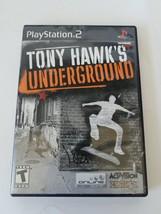 Tony Hawk's Underground Sony Playstation 2 PS2 #SLUS 20731 - $13.32