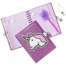 Unicorn Locking Journal - Learning Fun by Three Cheers for Girls 3C4G 36178 - $23.91