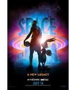 Space Jam A New Legacy Poster LeBron James Zendaya Movie Art Film Print ... - $10.90+
