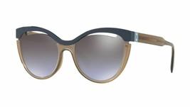Miu Miu SORBET EVOLUTION SMU01TS blue/violet brown shaded mirror Sunglasses - $197.98