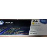 SealedNew Genuine OEM HP304A Toner CC532A Yellow; Exp: 1-29-15; 4-24-14;... - $77.13