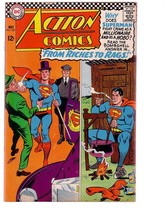 Action Comics #337 1966-SUPERMAN-RICHES To RAGS---DC FN/VF - $63.05