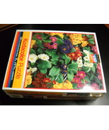 Rose Art Kodacolor Jigsaw Puzzle Floral Delight Sunflower Shepard Factor... - $11.99