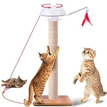RundA Cat Scratching Post, 35 Inches Claw Scratch Collection Durable Cat... - £41.67 GBP