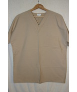 White Swan Fundamentals Women's Scrub Top Beige  Sz XL - $6.99