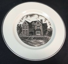 """Tri State Pottery Festival 1989 Homer Laughlin Home 10 1/4"""" Plate by Hans Hacker image 1"""