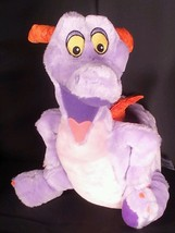 Disney Figment Dragon Plush Purple Stuffed 16 inch Imagination Disneylan... - $34.60