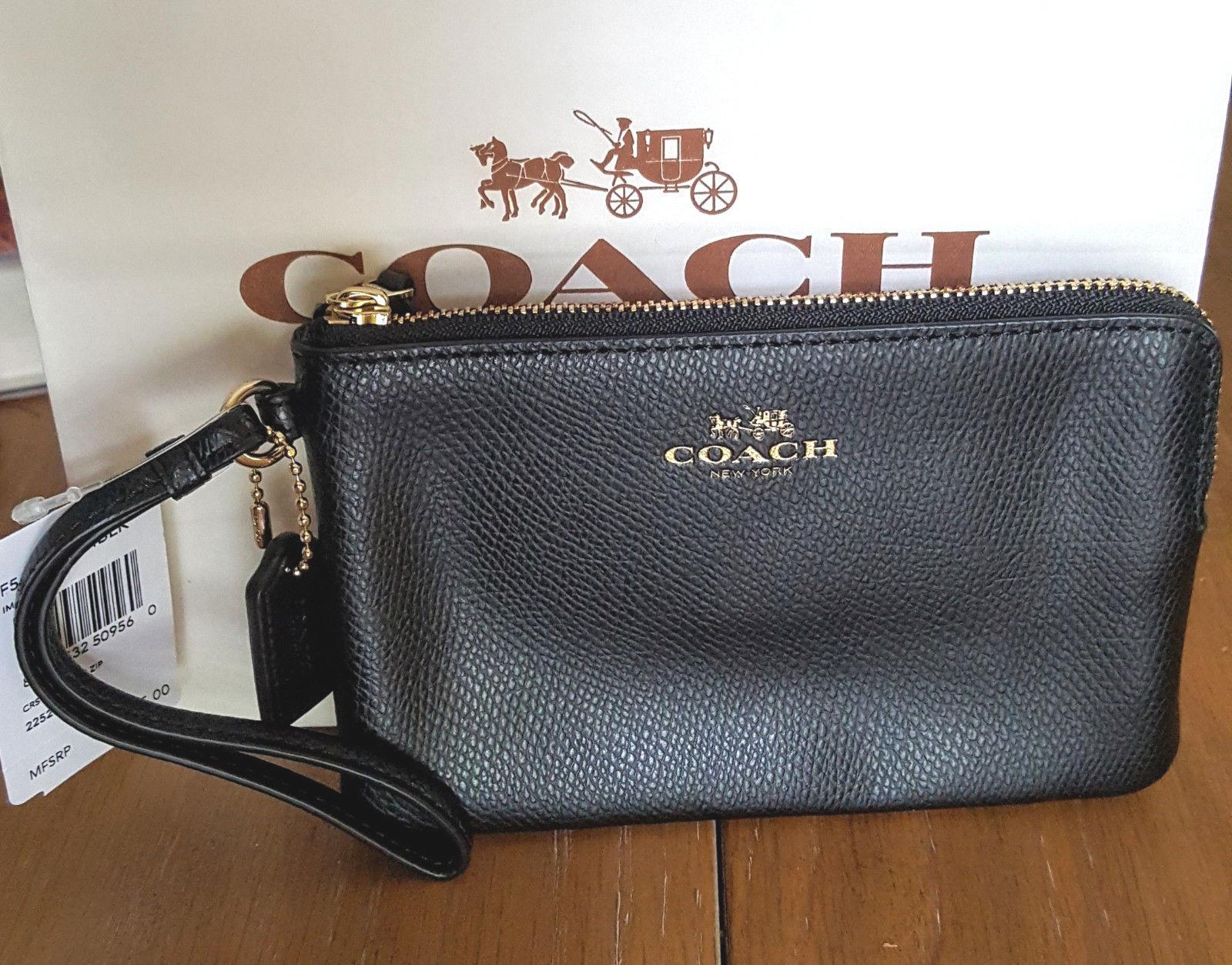 b378b598dd2c4 NWT Coach Crossgrain Leather Corner Zip and 50 similar items. S l1600