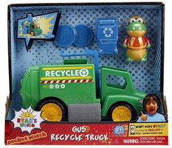 Pocket Watch Ryan's World Gus' Recycle Truck Figure & Vehicle - $12.99