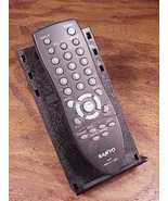 Sanyo Remote Control, no. GXCB for TV, used, cleaned and tested
