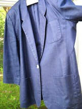 Talbots size 16 linen golf/career blazer - $12.00