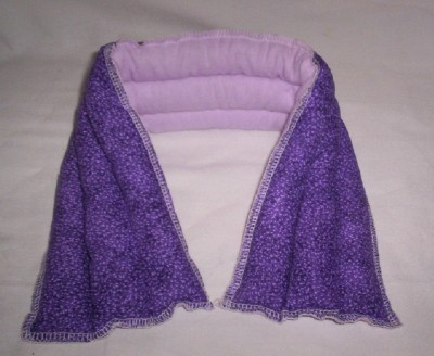 True Lavender Microwave Hot Cold Therapy Neck Wrap