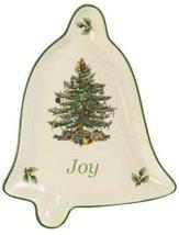 Spode Christmas Tree Charming Sentiment Tray, Joy Bell - $20.00