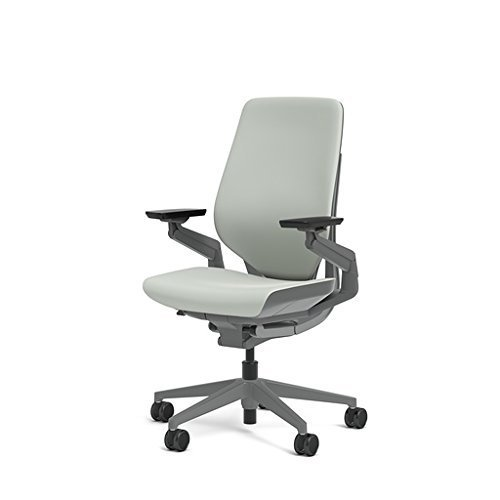 Primary image for Steelcase Gesture Office Chair - Cogent: Connect Nickel Fabric, Medium Seat Heig