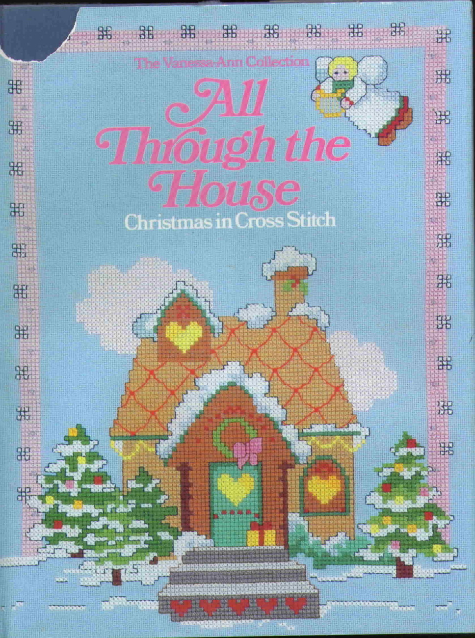 All throught the house christmas cross stitch
