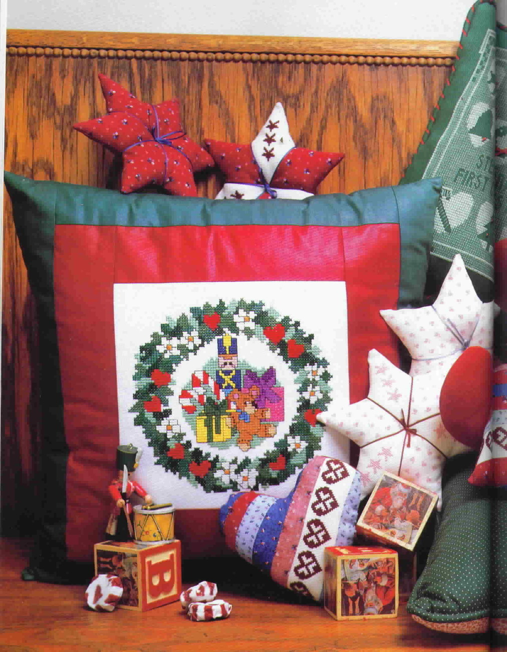 All Through The House Christmas in Cross Stitch Vanessa Ann Collection