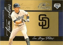 2005 donruss San Diego padres mark loretta serial #8/800 - $2.50