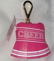 Bath & Body Works Pink Cheer Cheerleader School Pocket *Bac Clip Holder Case - $17.33